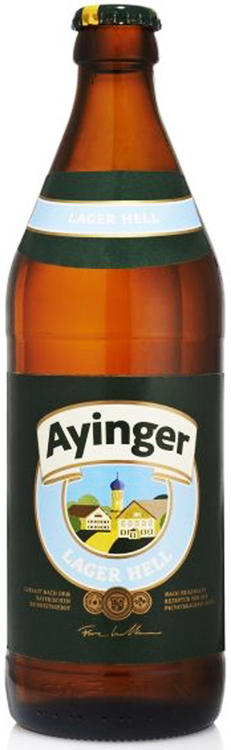 Ayinger Lager Hell 0,50L