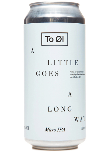To Øl A Little Goes A Long Way IPA 0,44L