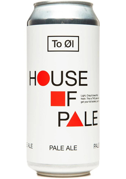 To Øl House of Pale Pale Ale 0,44L