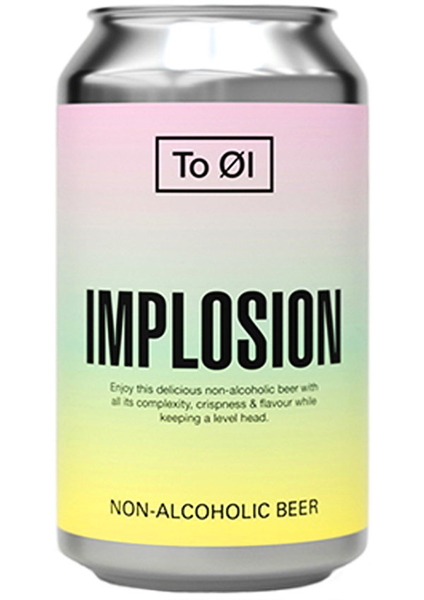 To Øl Implosion Alkoholfrei   0,33L